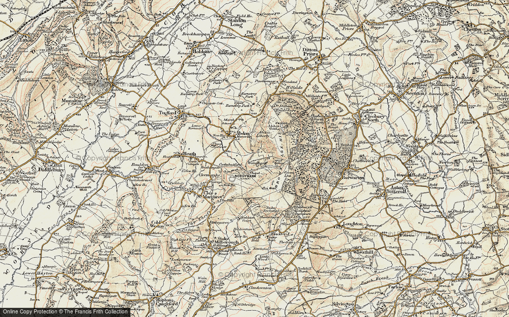 Old Map of Woodbank, 1901-1902 in 1901-1902