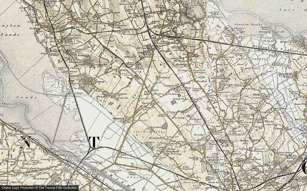Old Map of Woodbank, 1902-1903 in 1902-1903