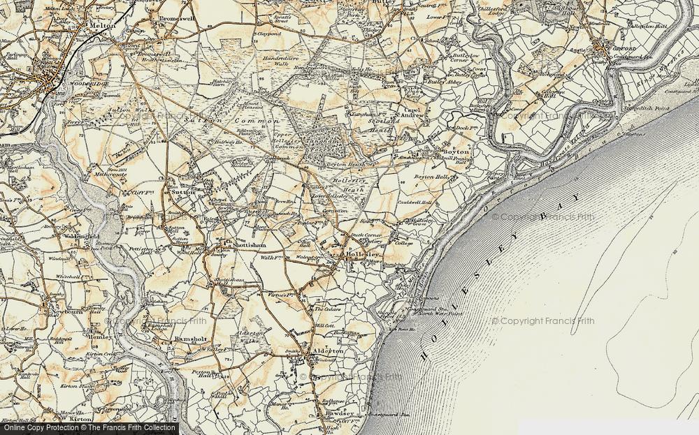 Woodbridge Walk, 1898-1901