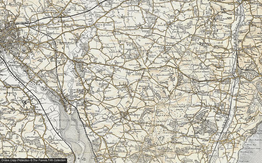 Woodbury Salterton, 1899