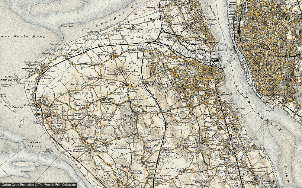 Old Map of Woodchurch, 1902-1903 in 1902-1903