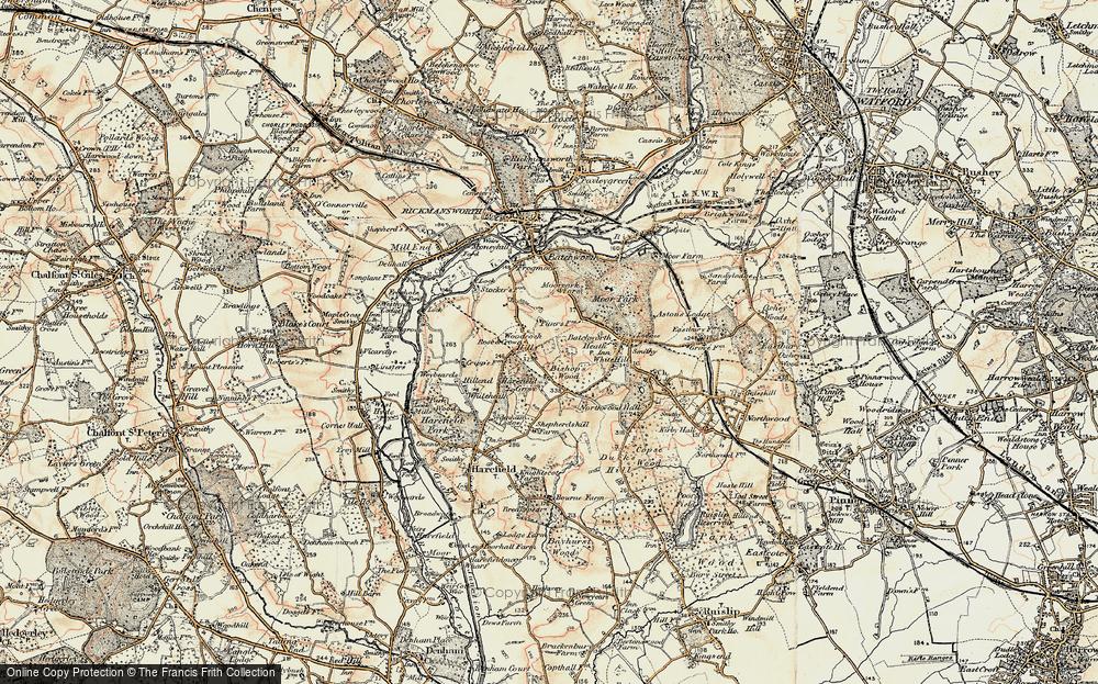 Woodcock Hill, 1897-1898