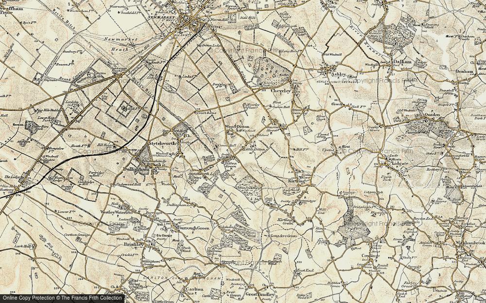 Woodditton, 1899-1901