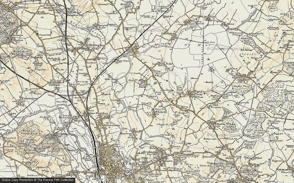 Woodeaton, 1898-1899