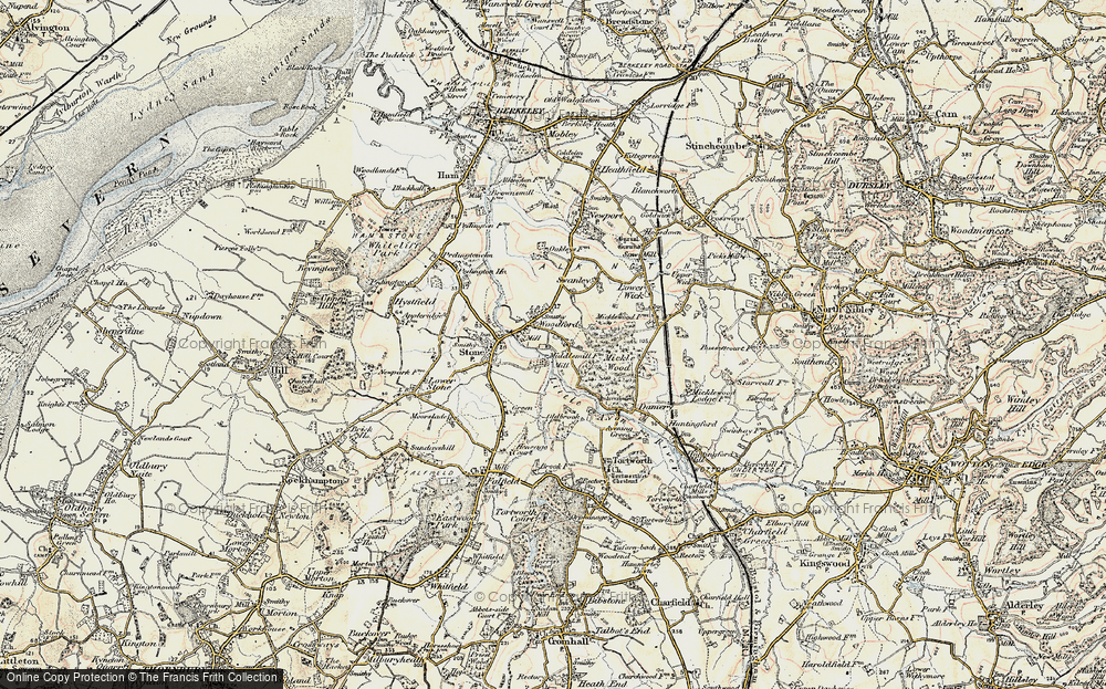 Old Map of Woodford, 1899-1900 in 1899-1900
