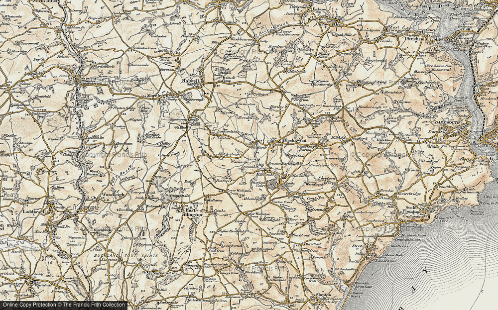 Old Map of Woodford, 1899 in 1899
