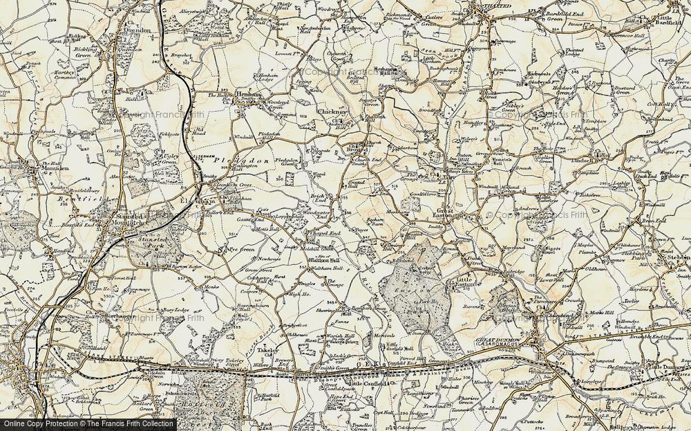 Woodgates End, 1898-1899