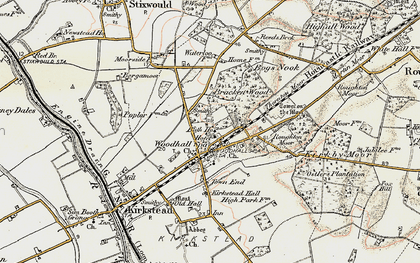 Old map of Woodhall Spa in 1902-1903