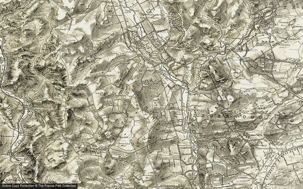 Old Map of Woodheads, 1901-1904 in 1901-1904