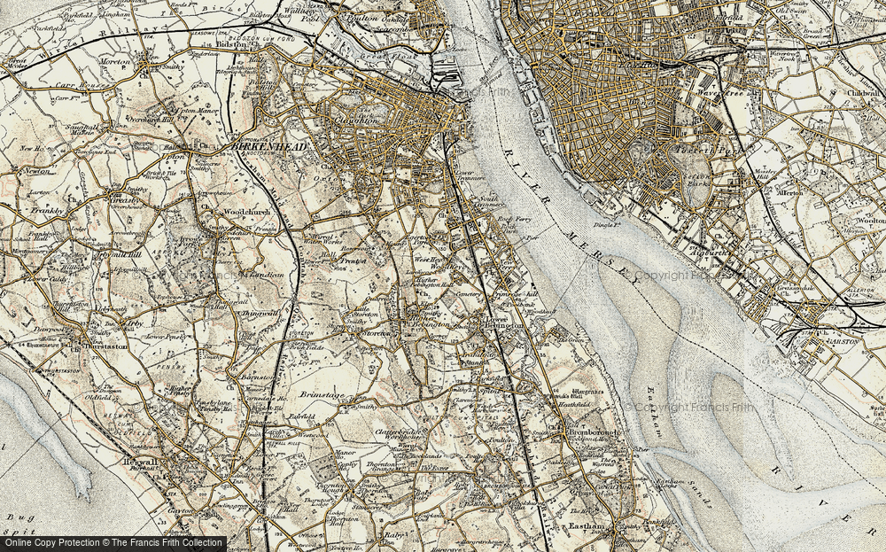 Old Map of Woodhey, 1902-1903 in 1902-1903