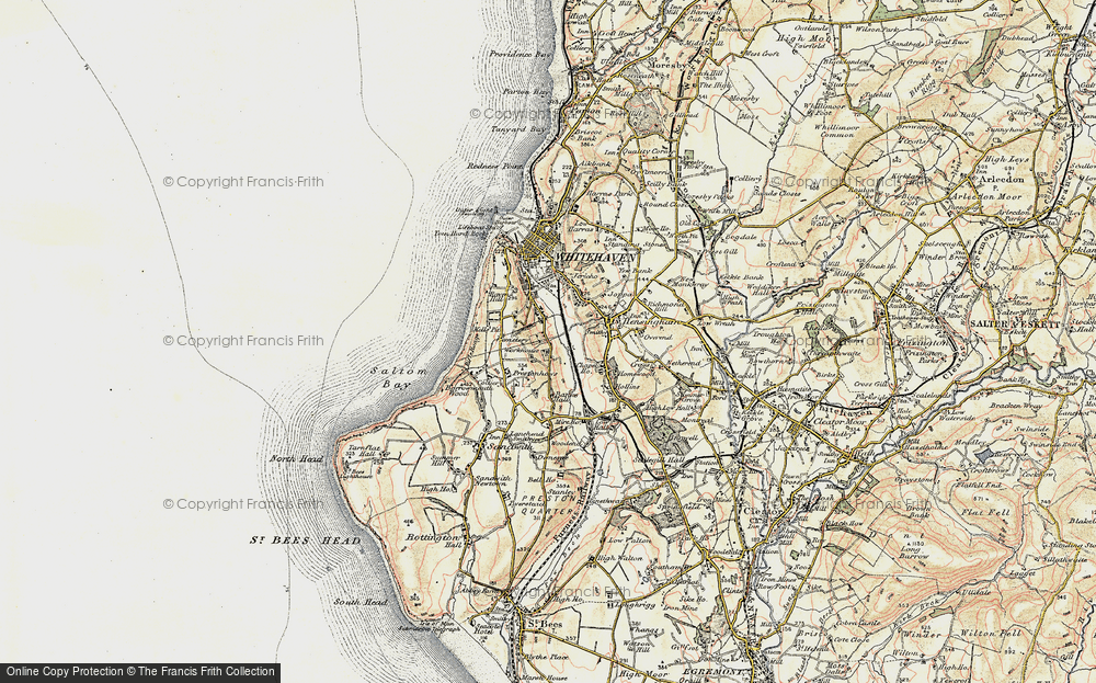 Old Map of Woodhouse, 1901-1904 in 1901-1904