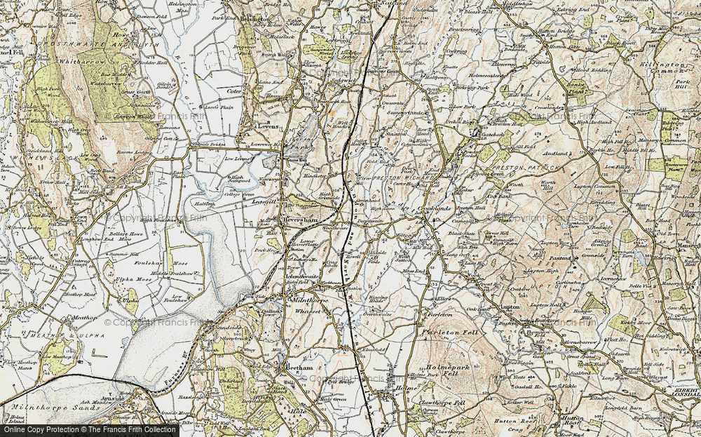 Old Map of Woodhouse, 1903-1904 in 1903-1904