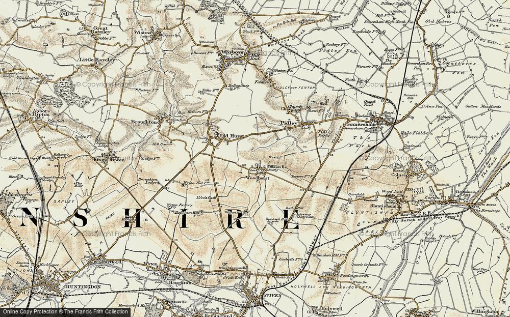 Woodhurst, 1901
