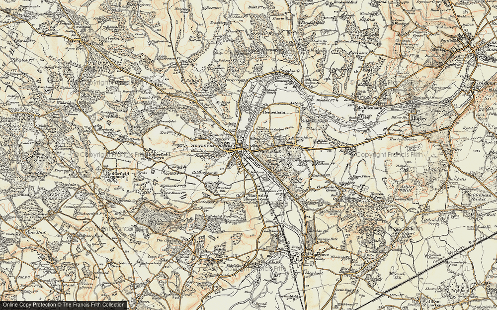Old Map of Woodlands, 1897-1909 in 1897-1909