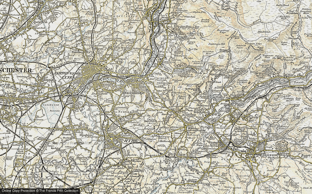 Old Map of Woodlands, 1903 in 1903