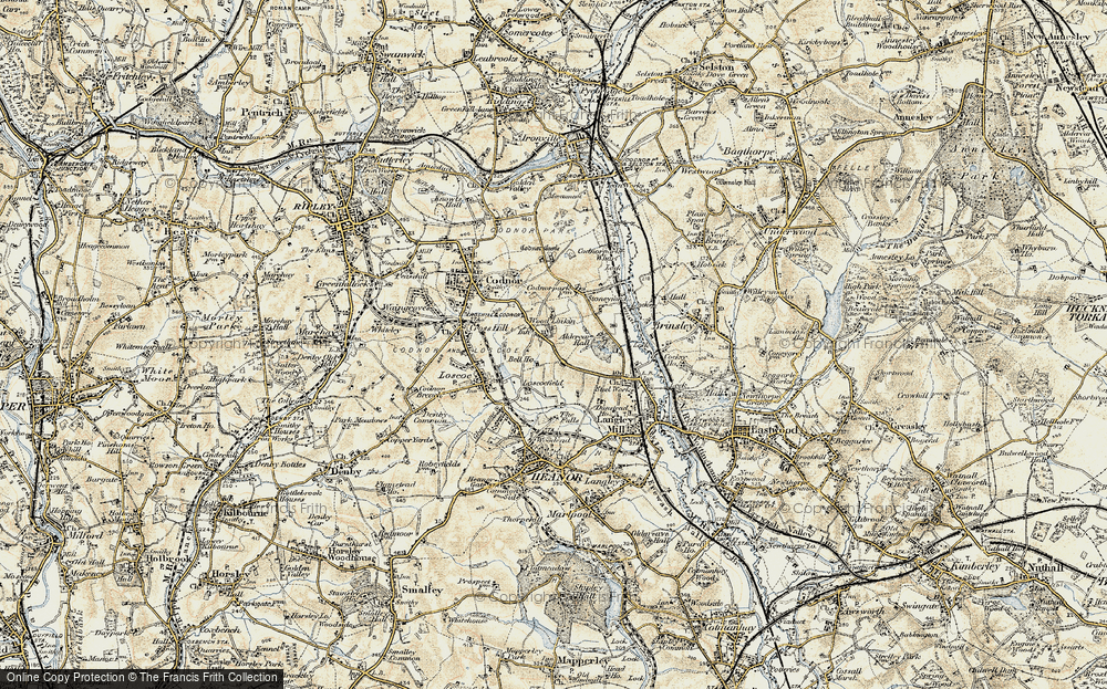 Old Map of Woodlinkin, 1902 in 1902