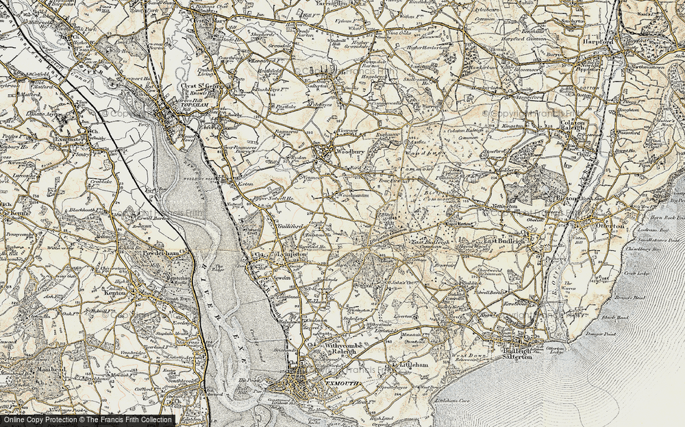 Old Map of Woodmanton, 1899 in 1899