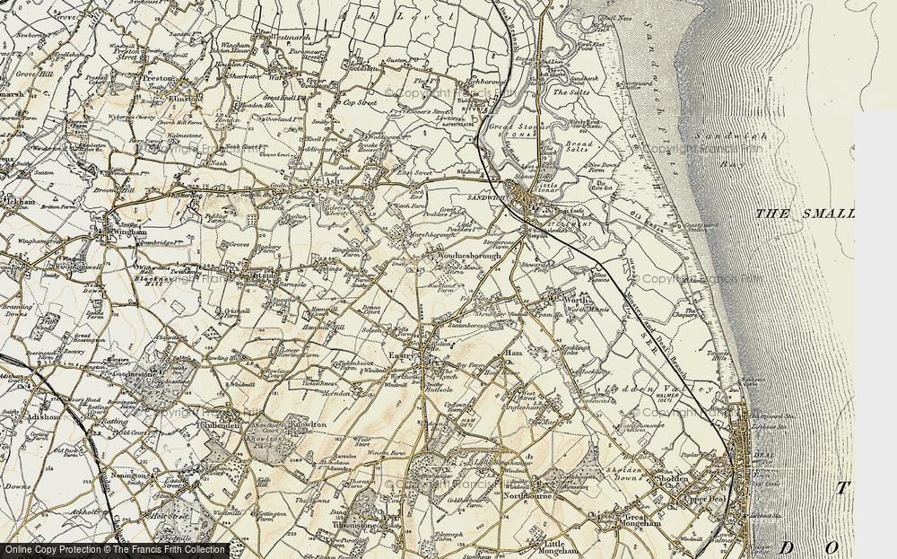 Woodnesborough, 1898-1899