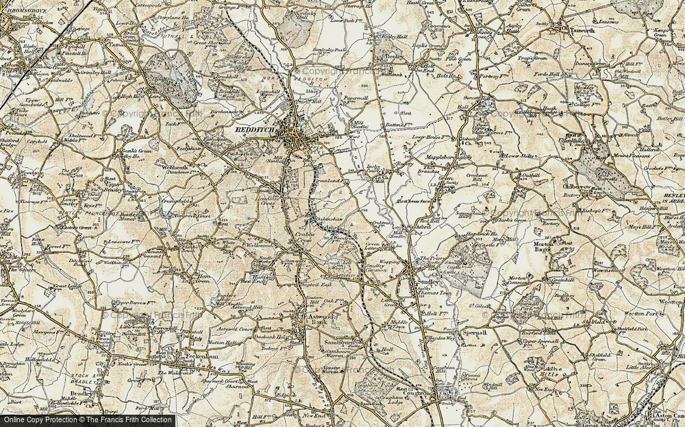 Old Map of Woodrow, 1899-1902 in 1899-1902