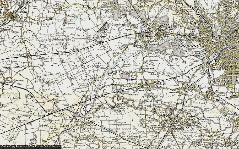 Old Map of Woods End, 1903 in 1903