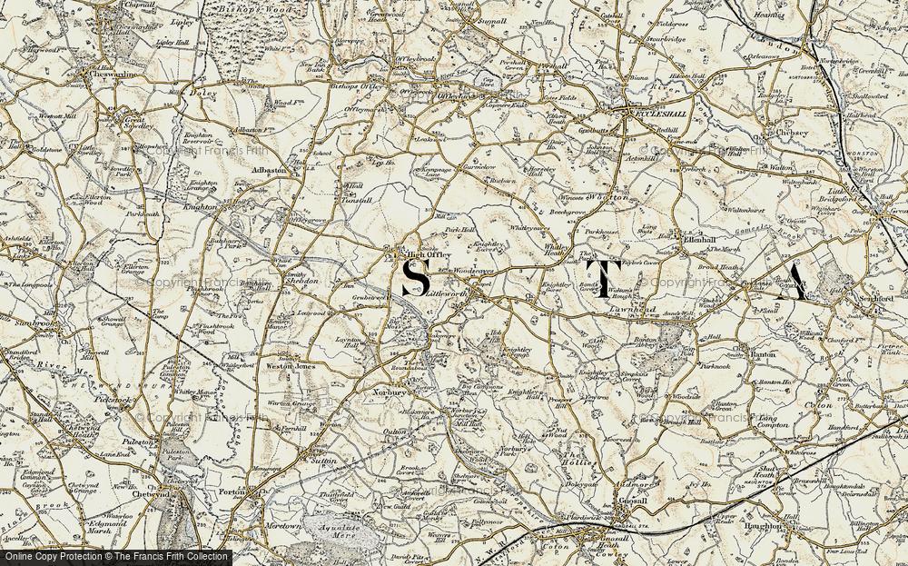 Woodseaves, 1902