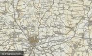 Map of Woodside, 1898-1901