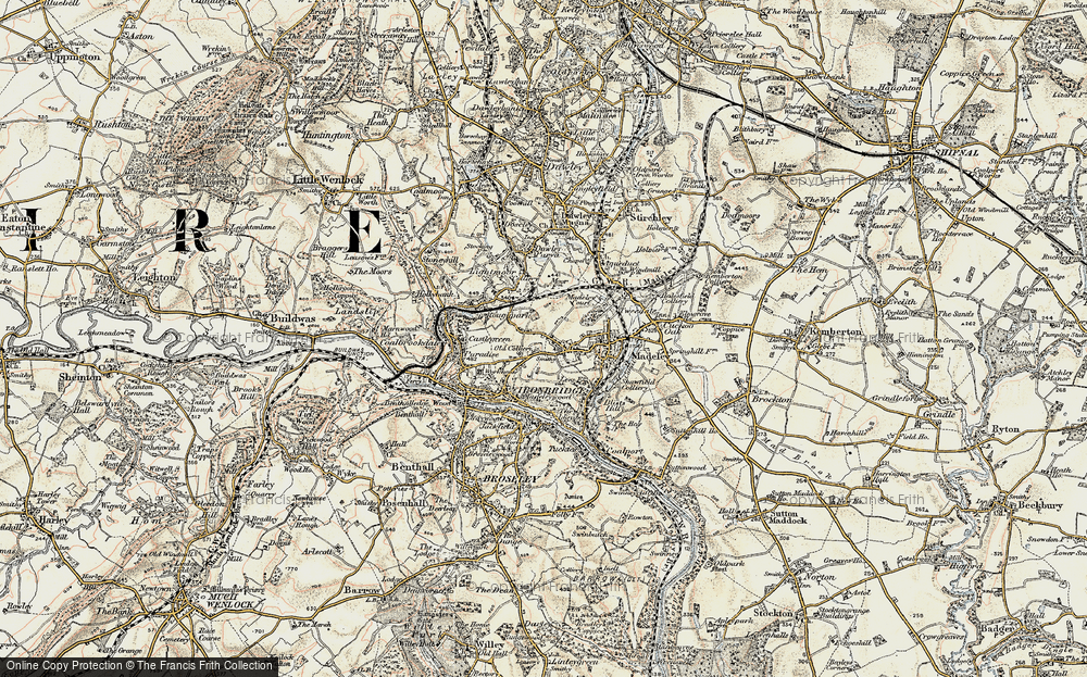 Old Map of Woodside, 1902 in 1902