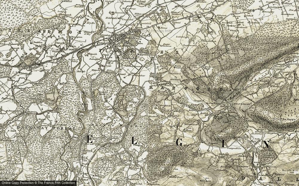 Woodside, 1910-1911