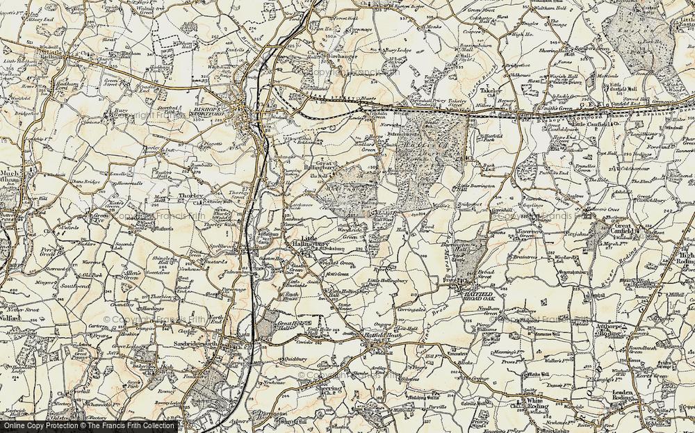 Woodside Green, 1898-1899