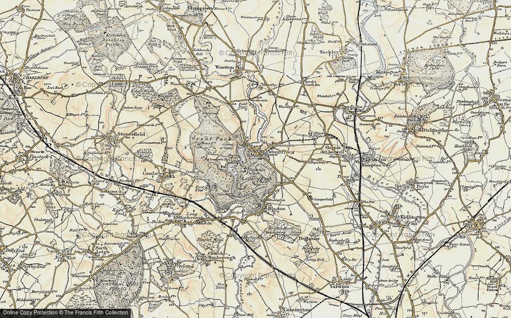 Blenheim palace map