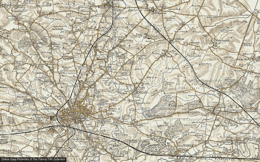 Woodway Park, 1901-1902