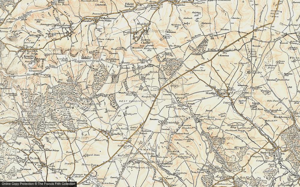 Woodyates, 1897-1909
