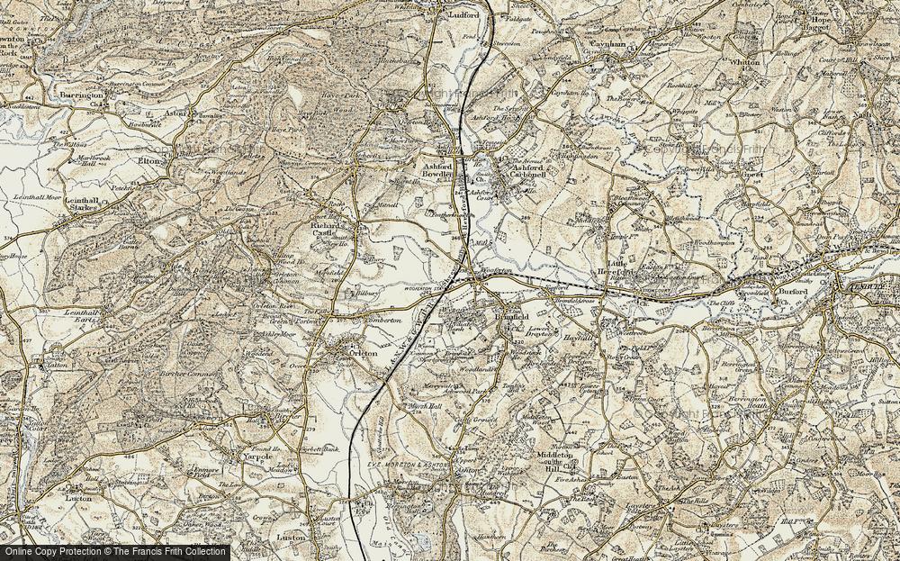 Woofferton, 1901-1902