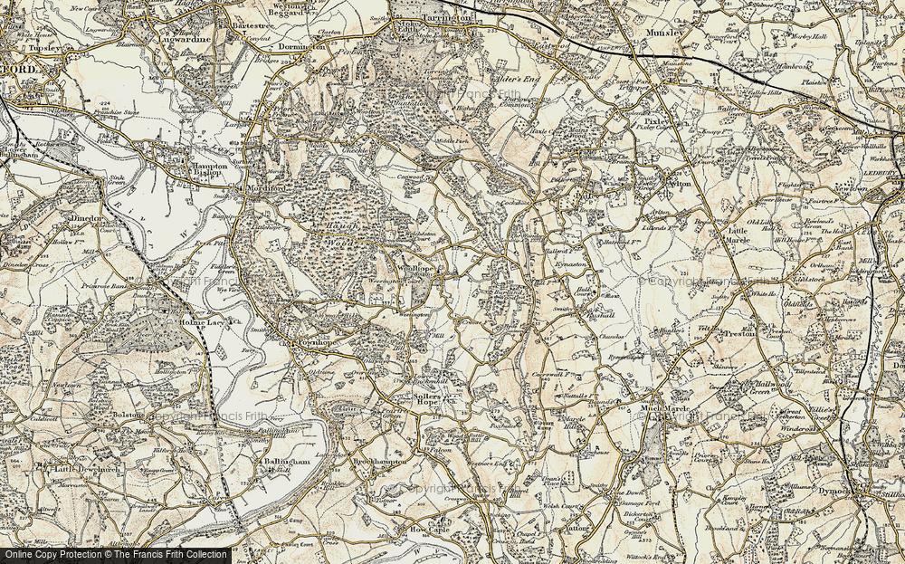 Woolhope, 1899-1901