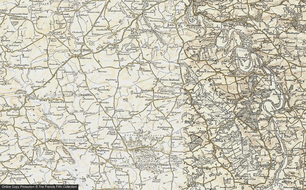 Woollaton, 1900