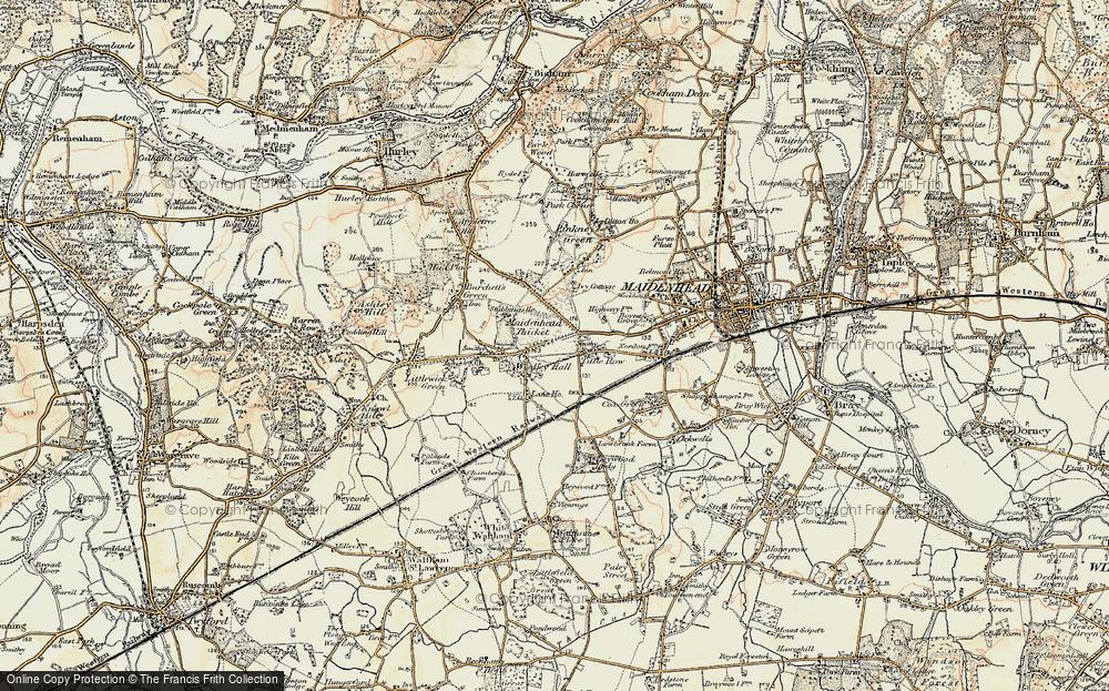 Woolley Green, 1897-1909