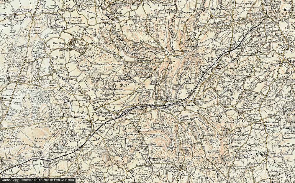 Woolmer Hill, 1897-1900