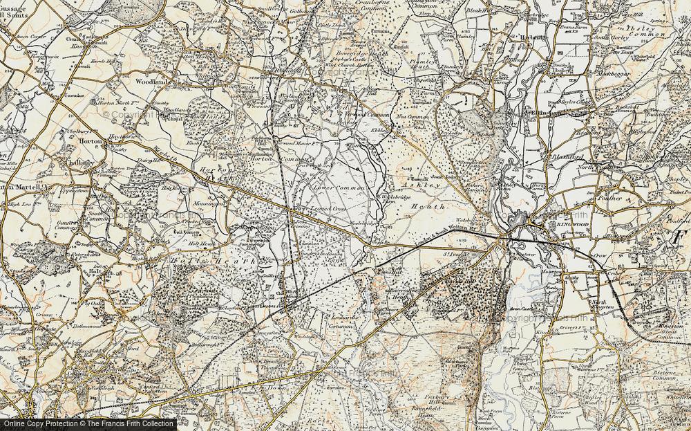 Woolsbridge, 1897-1909