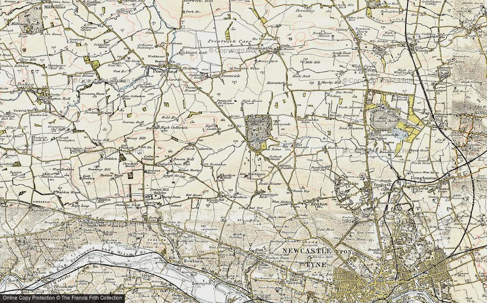 Woolsington, 1901-1903