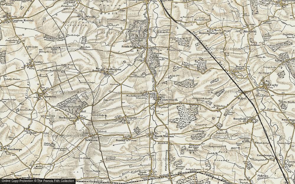 Woolsthorpe-by-Colsterworth, 1901-1903