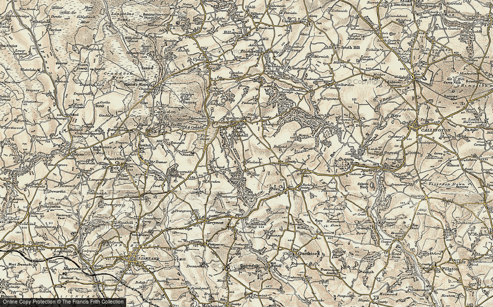 Old Map of Woolston, 1900 in 1900