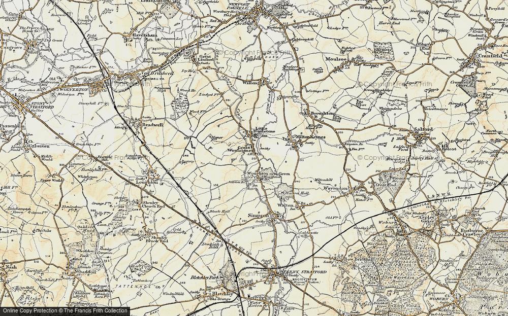 Woolstone, 1898-1901