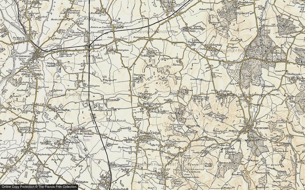 Woolstone, 1899-1900