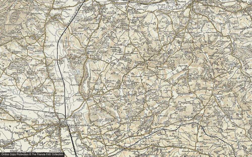 Woonton, 1899-1902