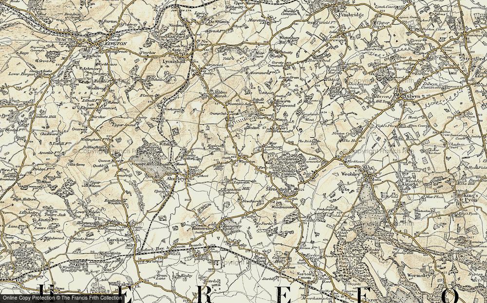 Woonton, 1900-1901