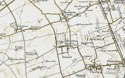 Old map of Ashdale Ho in 1903-1908