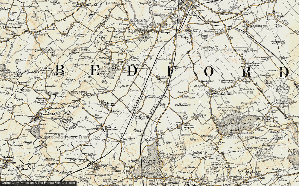 Wootton Broadmead, 1898-1901