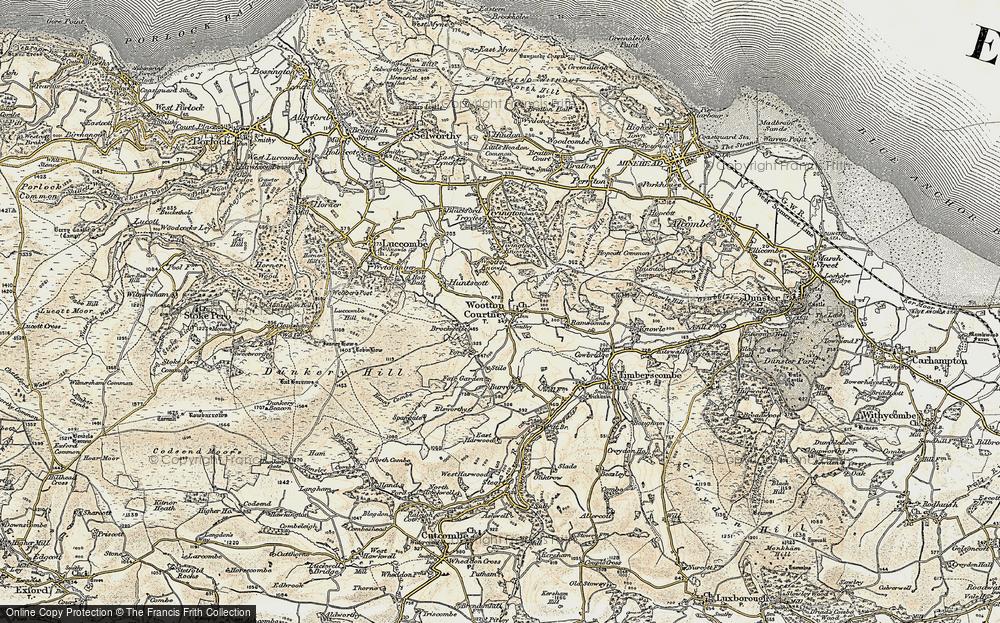 Wootton Courtenay, 1898-1900