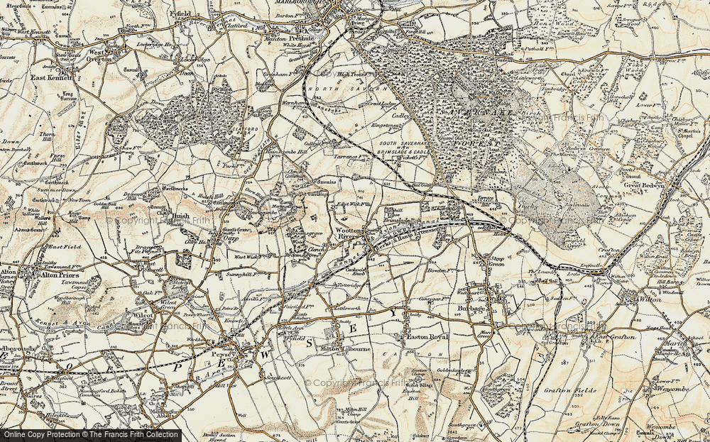 Wootton Rivers, 1897-1899