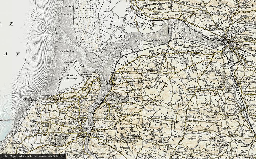 Worlington, 1900